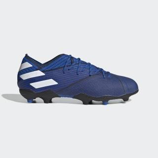 Футбольные бутсы Nemeziz 19.1 FG football blue / ftwr white / core black F99957