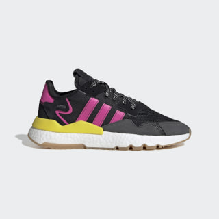 Nite Jogger Shoes Core Black / Shock Pink / Gum EG2955