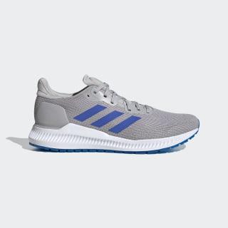 Zapatillas Solarblaze Grey Two / Glow Blue / Signal Green EE4230