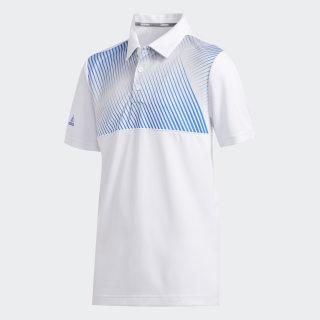 Gradient Stripe Polo Shirt White FI8721
