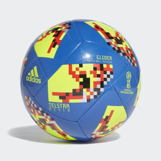 FIFA World Cup Knockout Glider Ball hi-res blue s18 / black CW4687