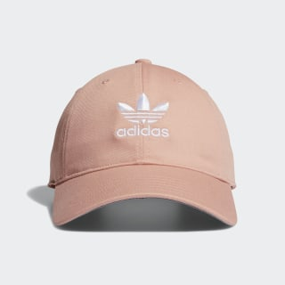 Relaxed Strap-Back Hat Pink CK4986