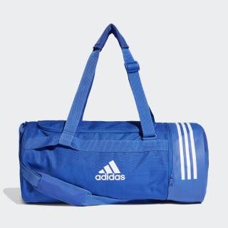 Bolsa de deporte mediana Convertible 3 bandas Bold Blue / White / White DT8657