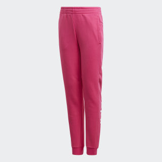 Pants Essentials Linear Real Magenta / White DV0336