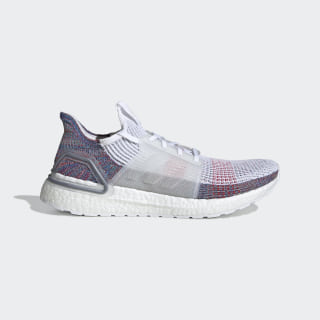 Кроссовки для бега Ultraboost 19 Cloud White / Crystal White / Blue B37708