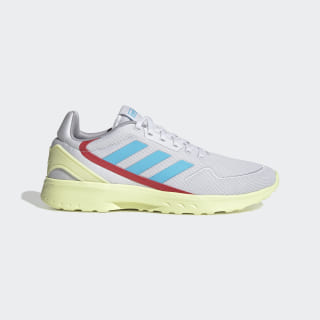 Nebzed Shoes Dash Grey / Bright Cyan / Yellow Tint EG3691
