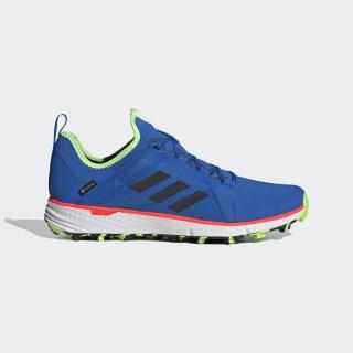 Zapatilla Terrex Speed GORE-TEX Trail Running Glory Blue / Core Black / Signal Green EH2287