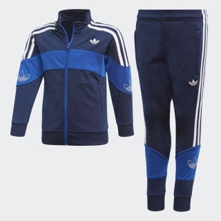 Bandrix Tracksuit Night Indigo / Team Royal Blue / White FM4456