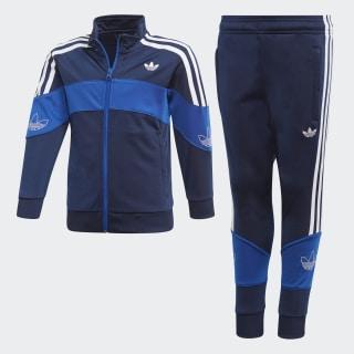 Track suit Bandrix Night Indigo / Team Royal Blue / White FM4456