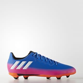Botas Messi 16.3 Terreno Firme Blue / Cloud White / Solar Orange BA9147