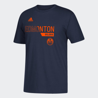 T-shirt Oilers Locker Division Nhl-Eoi-504 / Dark Navy DX2876