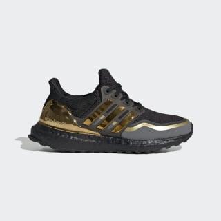 Ultraboost Metallic Shoes Core Black / Gold Metallic / Grey Four EH0348