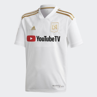 Los Angeles FC Away Jersey White / Dark Football Gold CE3279