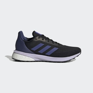 Zapatillas para correr Astrarun Core Black / Boost Blue Violet Met. / Purple Tint EH1524