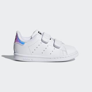 Sapatos Stan Smith White / Metallic Silver / Ftwr White AQ6274