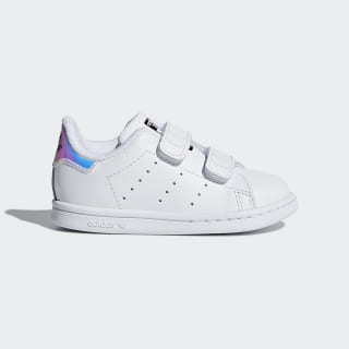 Stan Smith Shoes Metallic Silver / Metallic Silver / Cloud White AQ6274