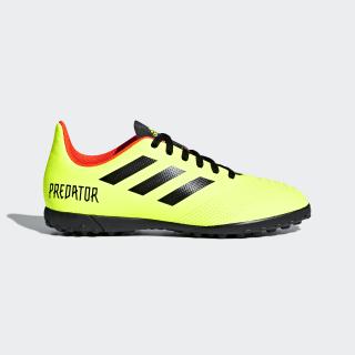 Calzado de fútbol Predator Tango 18.4 Césped Artificial Solar Yellow / Core Black / Solar Red DB2340