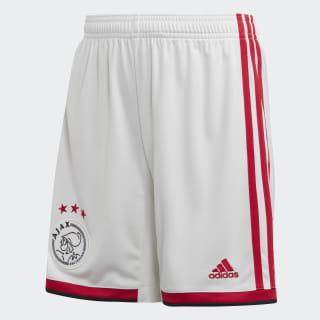 Ajax Amsterdam Home Shorts White / Bold Red / Black EI7378