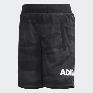 Camouflage Graphic Shorts Black / White DW4068
