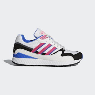 Ultra Tech Shoes Crystal White / Shock Pink / Core Black AQ1190