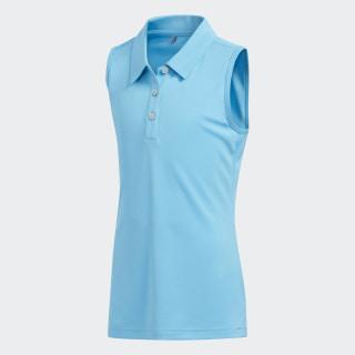 Tournament Polo Shirt Bright Cyan DT6070