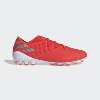 Scarpe da calcio Nemeziz 19.1 Artificial Grass Active Red / Silver Met. / Solar Red EF8857