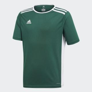 Camiseta Entrada Collegiate Green / White CE9563