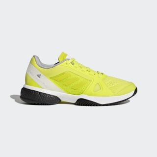 adidas by Stella McCartney Barricade Boost Shoes Aero Lime/Ftwr White/Core Black CM7804