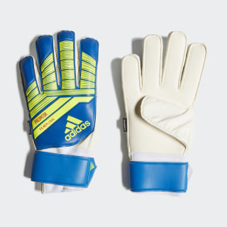 Predator Top Training Fingersave Gloves Football Blue / Bold Blue / Solar Yellow DN8570