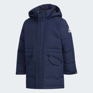 Пуховик LK HOODY DOWN collegiate navy / white EH4199