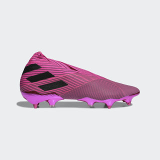 Футбольные бутсы Nemeziz 19+ SG shock pink / core black / shock pink F99862