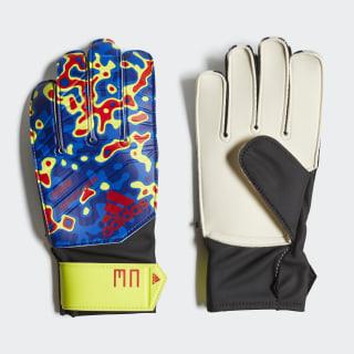 Predator Manuel Neuer Gloves Solar Yellow / Football Blue / Active Red DN8605