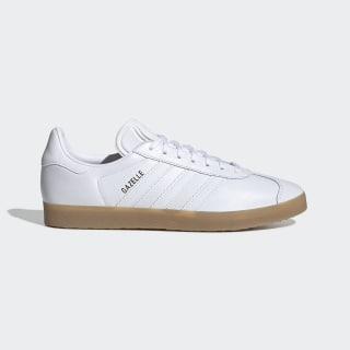 Chaussure Gazelle Cloud White / Cloud White / Gum4 BD7479