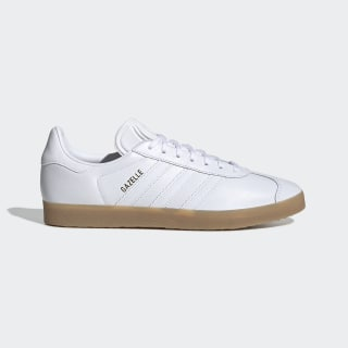 Tenis Gazelle Cloud White / Cloud White / Gum BD7479