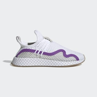 Deerupt S Runner Shoes Cloud White / Active Purple / Grey One DB2688