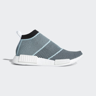 21c1b5c75e5 NMD CS1 Parley Primeknit Shoes Core Black   Core Black   Blue Spirit AC8597