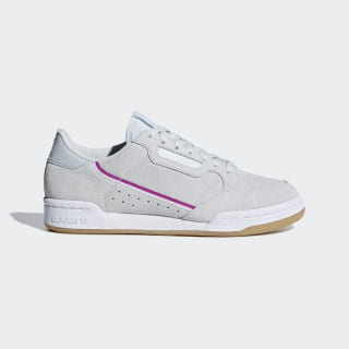 Continental 80 Shoes Grey / Vivid Pink / Ftwr White G27721