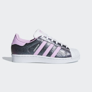 Tenis SUPERSTAR J FTWR WHITE/CLEAR LILAC F18/FTWR WHITE B37184