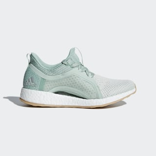 Pureboost X Clima Shoes Ash Green / Silver Metallic / Running White BB6090