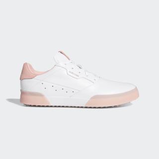 Zapatilla de golf Adicross Retro Cloud White / Glory Pink / Cloud White EG9060