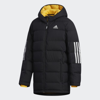 Пуховик Climaheat Black / Active Gold / Reflective Silver EH4176