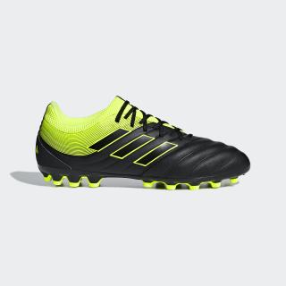 Copa 19.3 Artificial Grass Boots Core Black / Solar Yellow / Core Black F35774