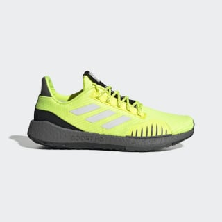 Tênis Pulseboost HD Winter Solar Yellow / Cloud White / Grey Six EF8906