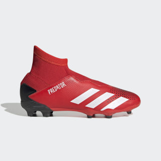 Predator 20.3 Firm Ground Boots Active Red / Cloud White / Core Black EF1907