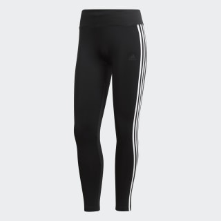 Calça Legging Designed 2 Move Climalite 3-Stripes Black / White CE2036