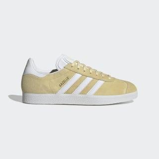 Кроссовки Gazelle Easy Yellow / Cloud White / Gold Metallic EF5599