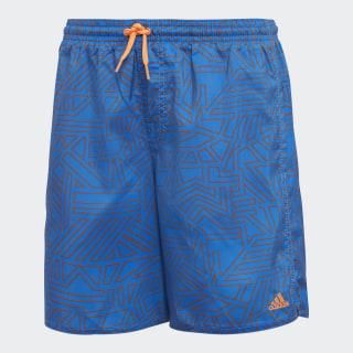 Bañador Graphic Blue / Hi-Res Orange DJ2161