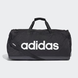 Linear Logo sportstaske, large Black / Black / White FM2400