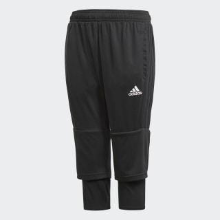 Pantalon 3/4 Tiro 17 Black / White AY2881