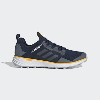 Terrex Speed LD Trail Running Shoes Collegiate Navy / Onix / Active Gold G26383